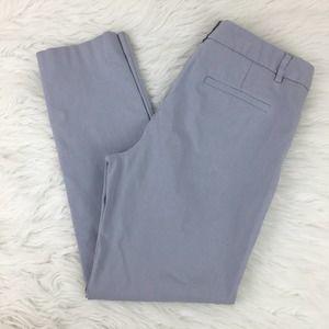 Mario Serrani Italy 4 Gray Cropped Chino Pants